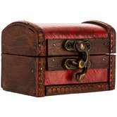 Extra Small Red Trunk Box